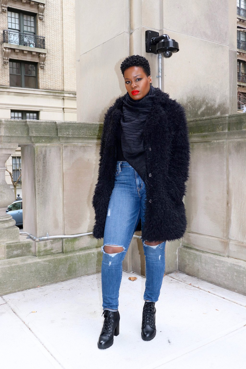 How To Fashionably Brave The Cold at NYFW