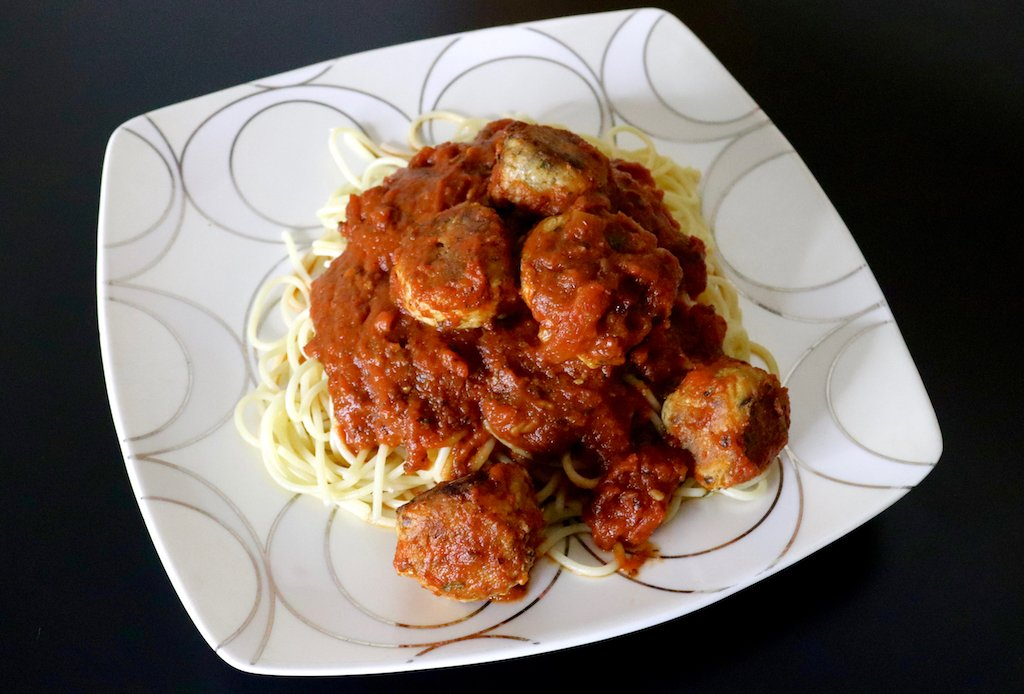 salmon meatballs with spaghetti recipe