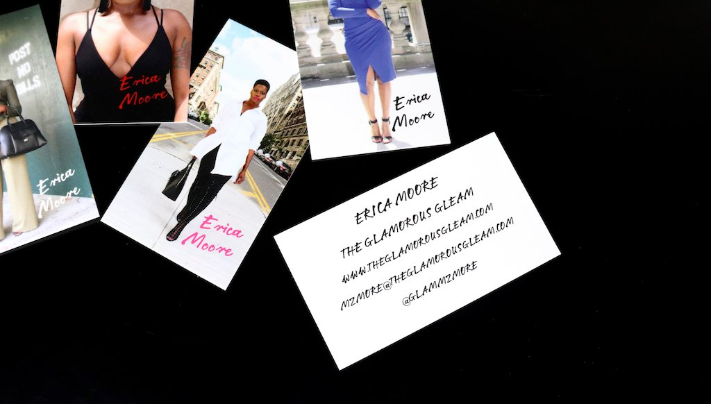 The Glamorous Gleam Business Card