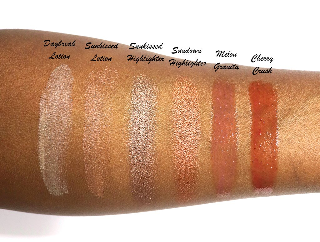 CoverGirl Vitalist Glow Swatches and Lip Oil Swatches