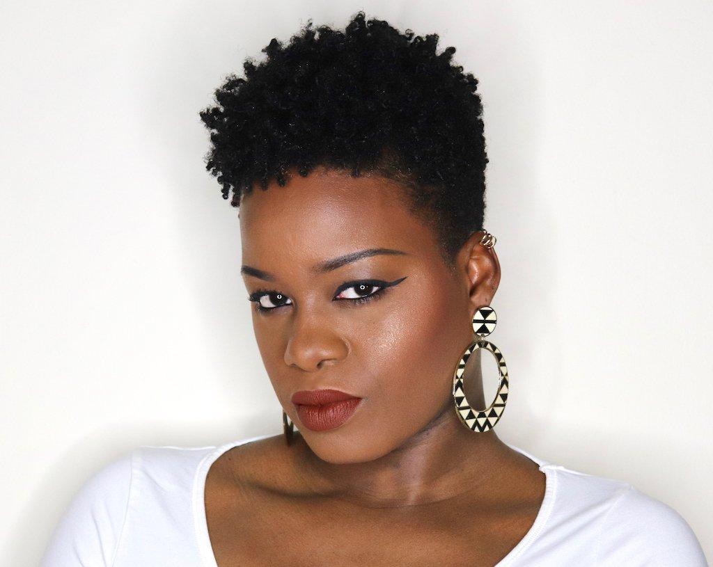 Fresh Tapered Cut 4c Hair