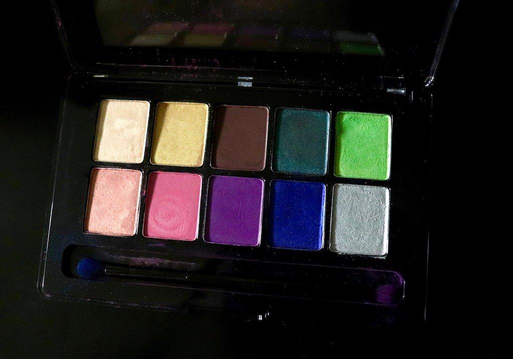 revlon color charge shadow palette color collage