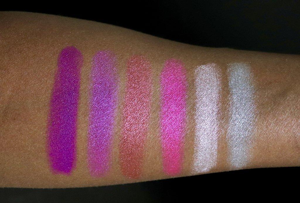 revlon color charge lip powder swatches dark skin