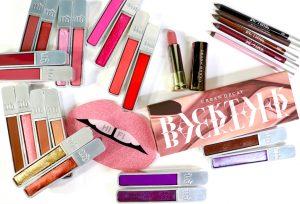 Urban Decay Backtalk Palette and Hi Fi Shine Ultra Cushion Lip Gloss