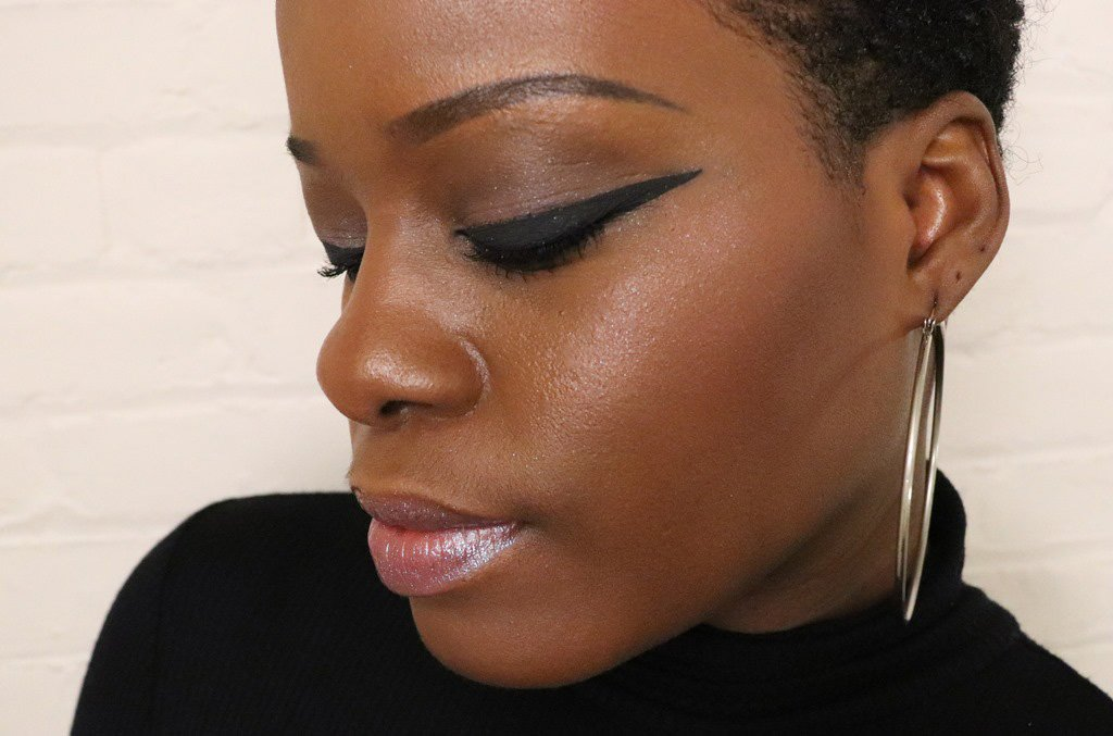 urban decay disco queen look dark skin