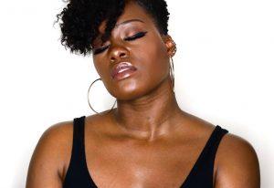 Fenty Beauty Brown Sugar Body Lava On Dark Skin