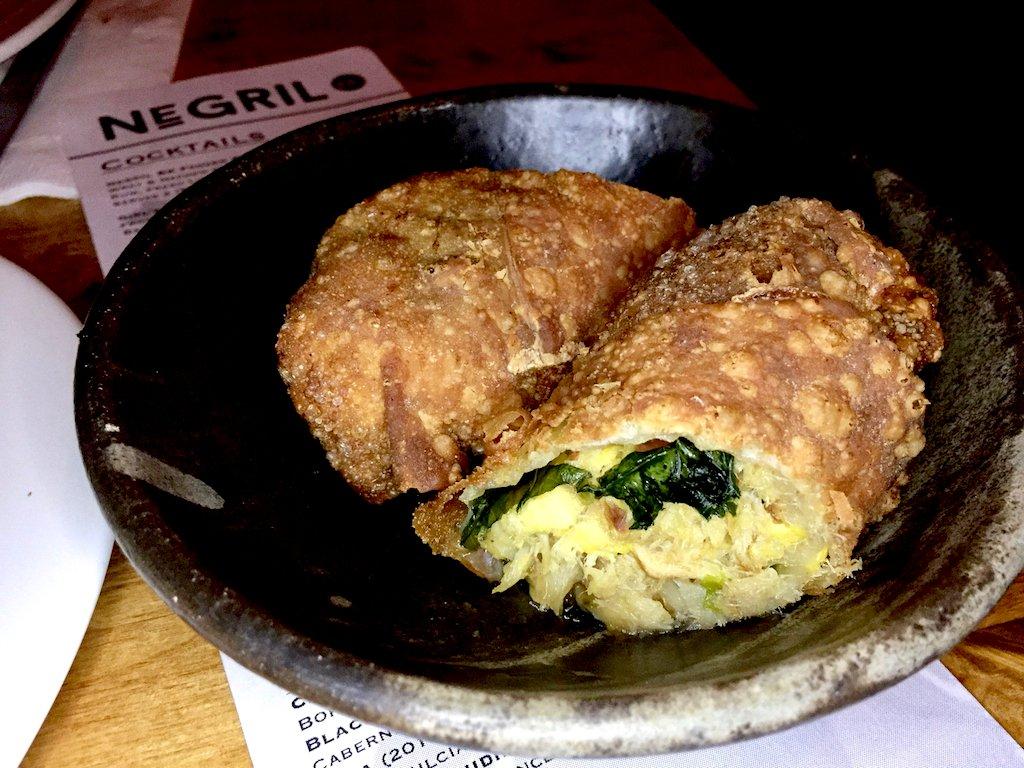 Negril BK Ackee & Saltfish Spring Rolls