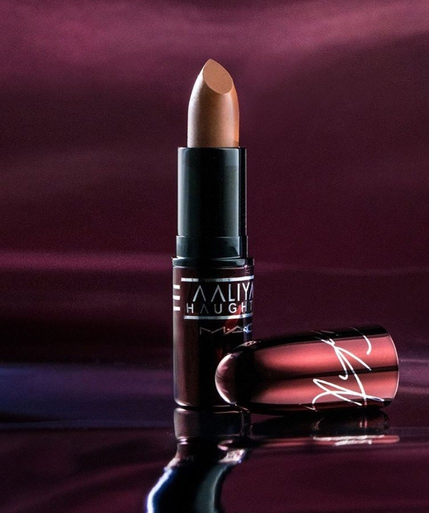 Aaliyah For MAC Packaging
