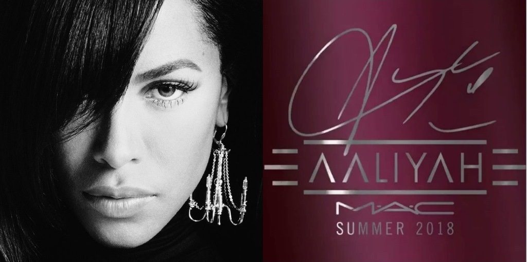 Aaliyah For MAC Collection Release Date