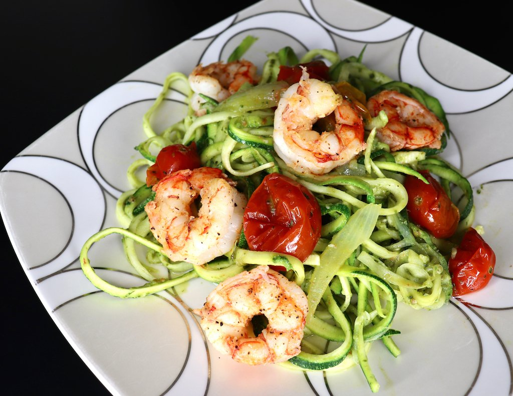Pesto Zucchini Noodles Recipe