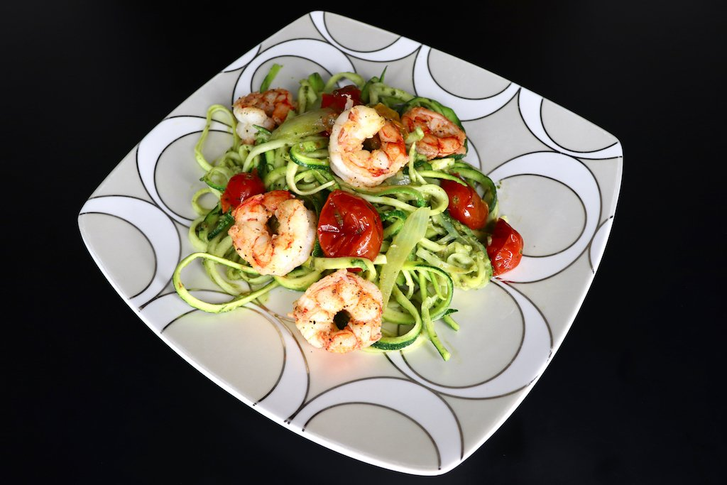 Pesto Zucchini Noodles Recipes