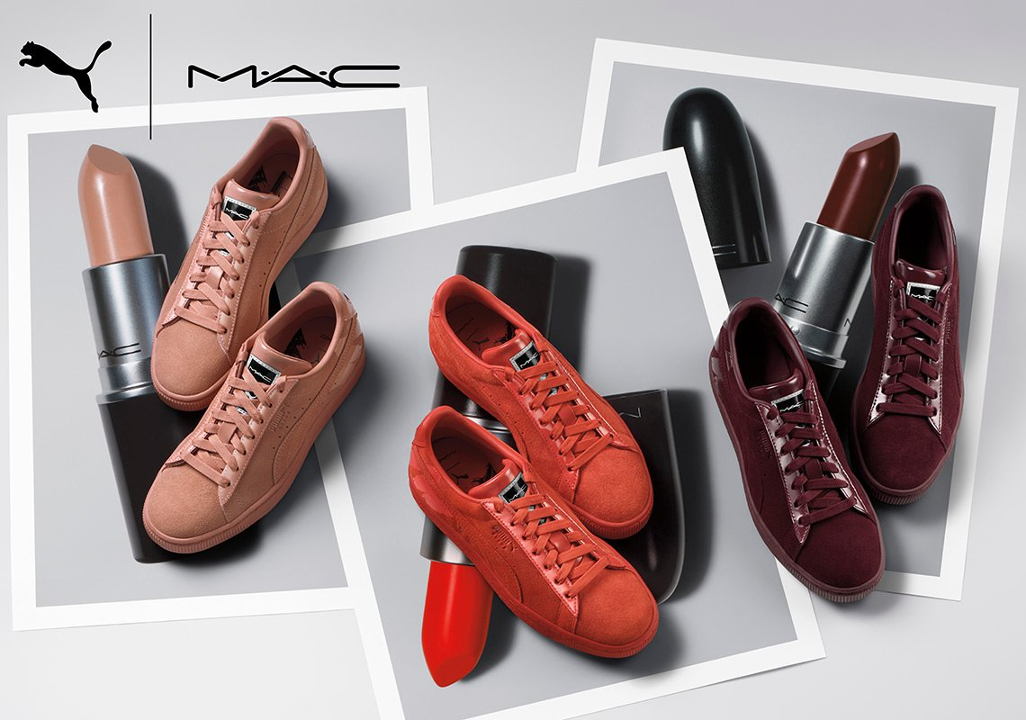 MAC x Puma Sneaker Collection