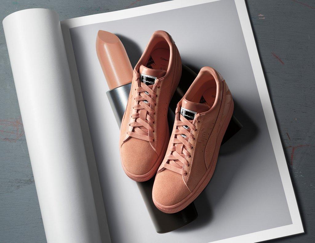 PUMA x MAC Sneaker Creme d' Nude
