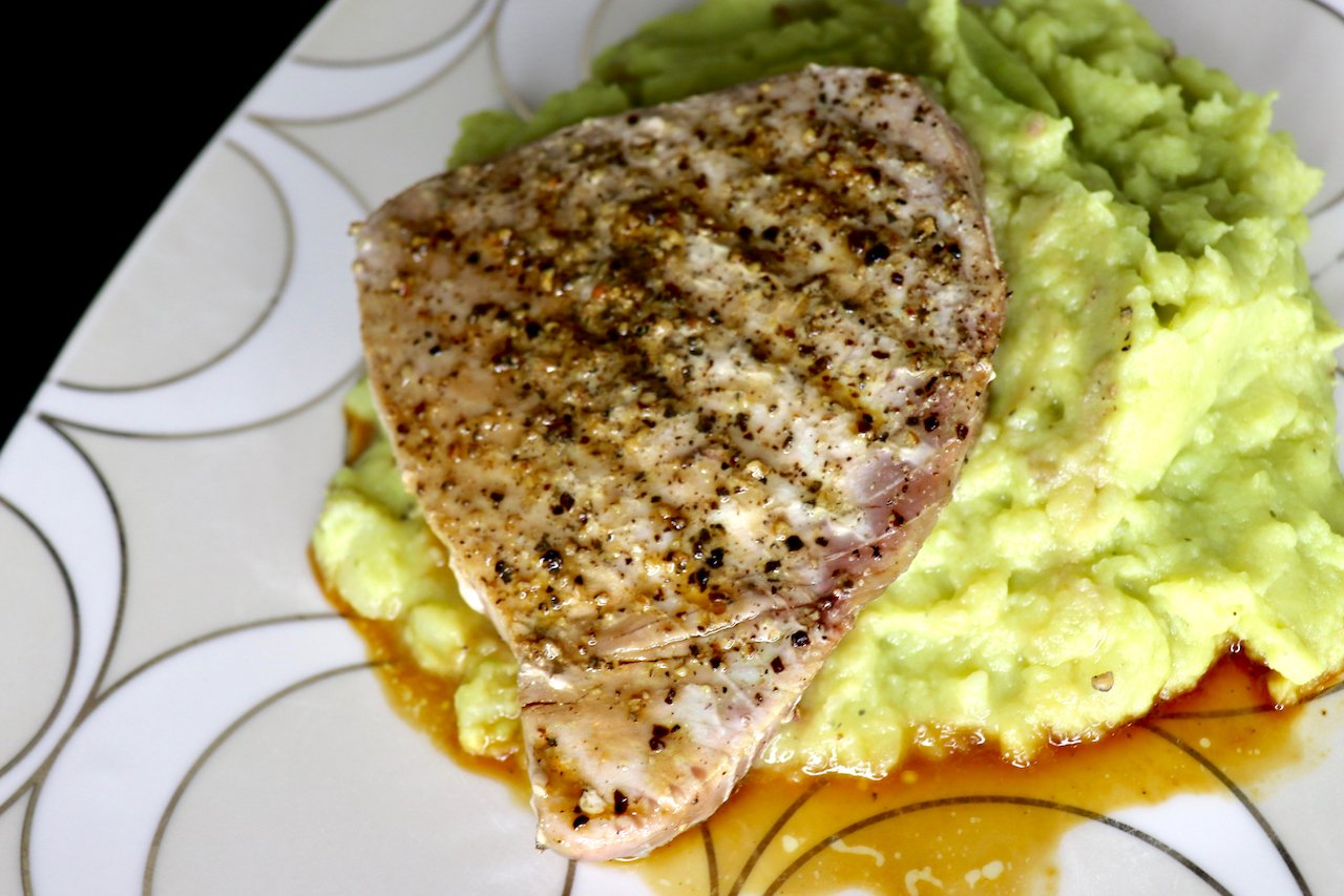 Pan Seared Ahi Tuna Steak Recipe