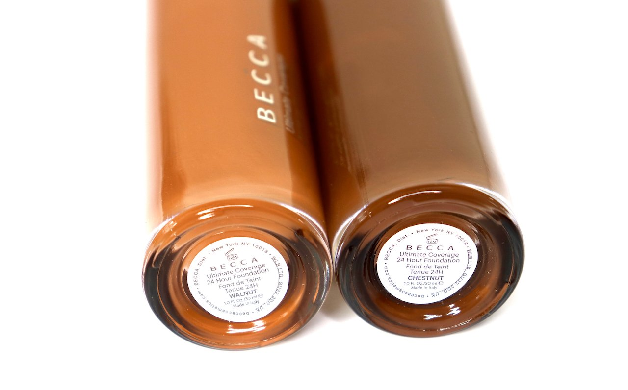 Becca Ultimate Coverage 24 HR Foundation Walnut and Chestnut