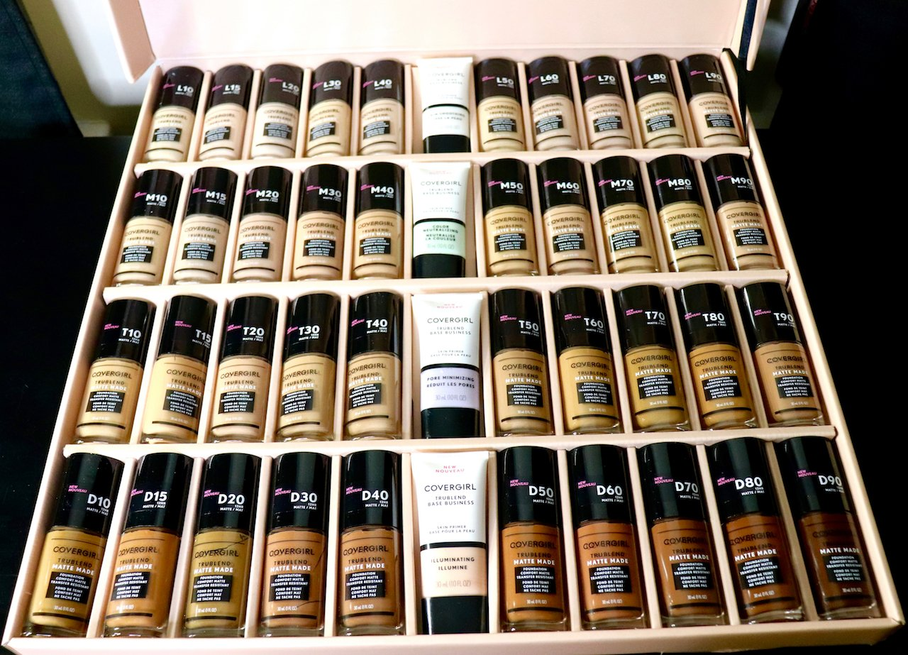 CoverGirl TruBlend Matte Made Foundation 40 shades