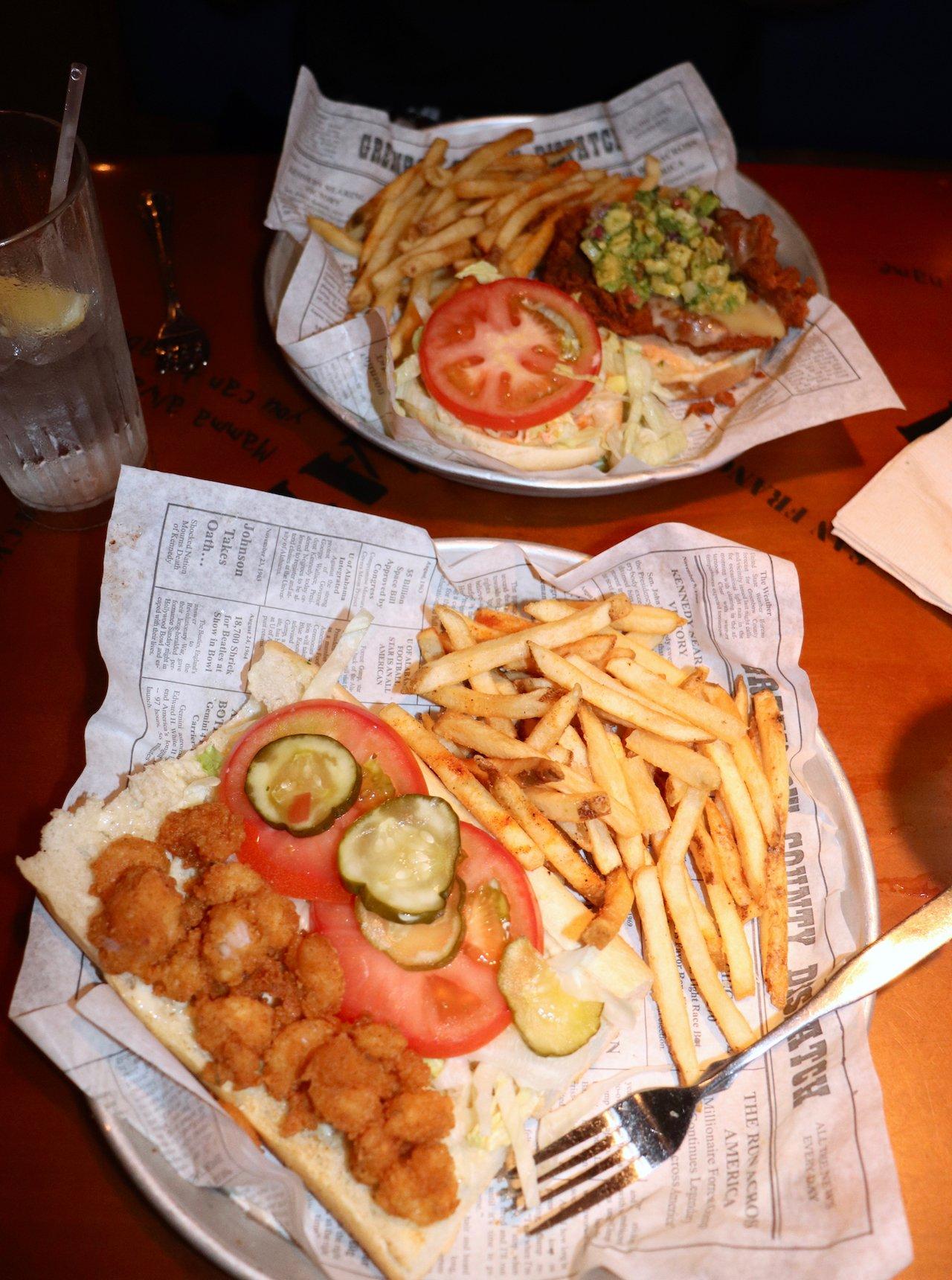 16th Birthday Dinner At Bubba Gumps CityWalk