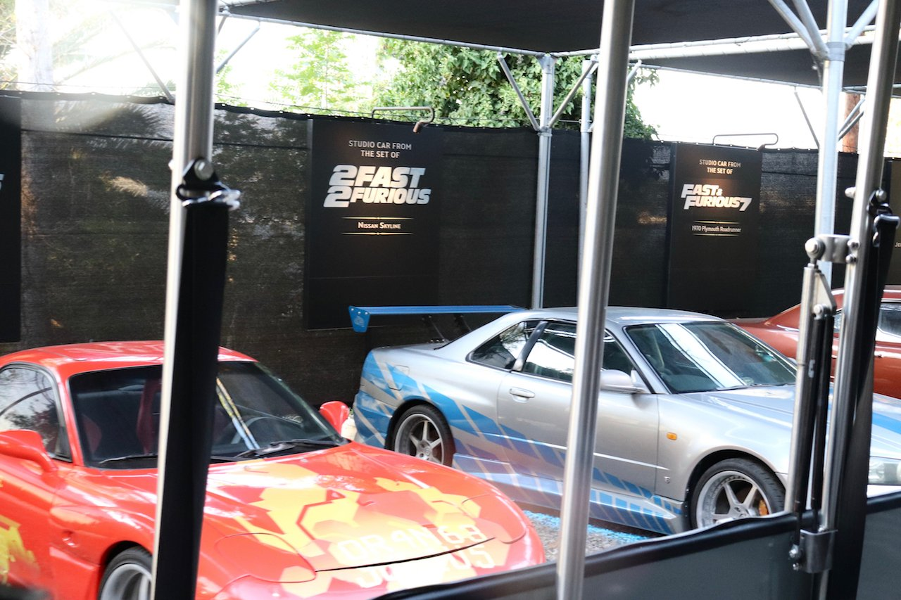 Universal Studios Hollywood Studio Tour Fast & Furious