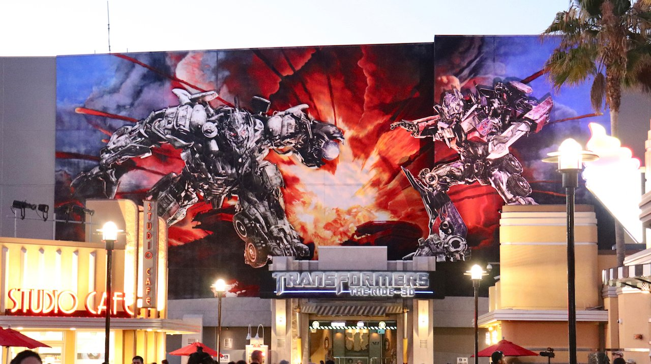 Universal Studios Hollywood Transformers 3D