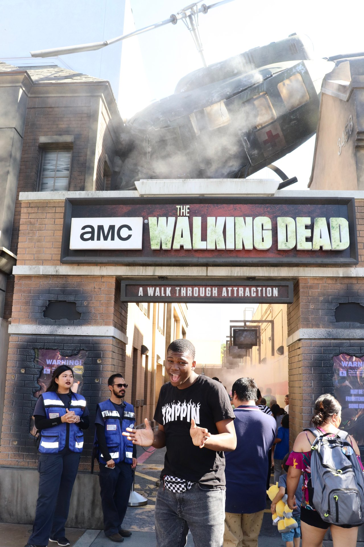 Universal Studios Hollywood The Walking Dead