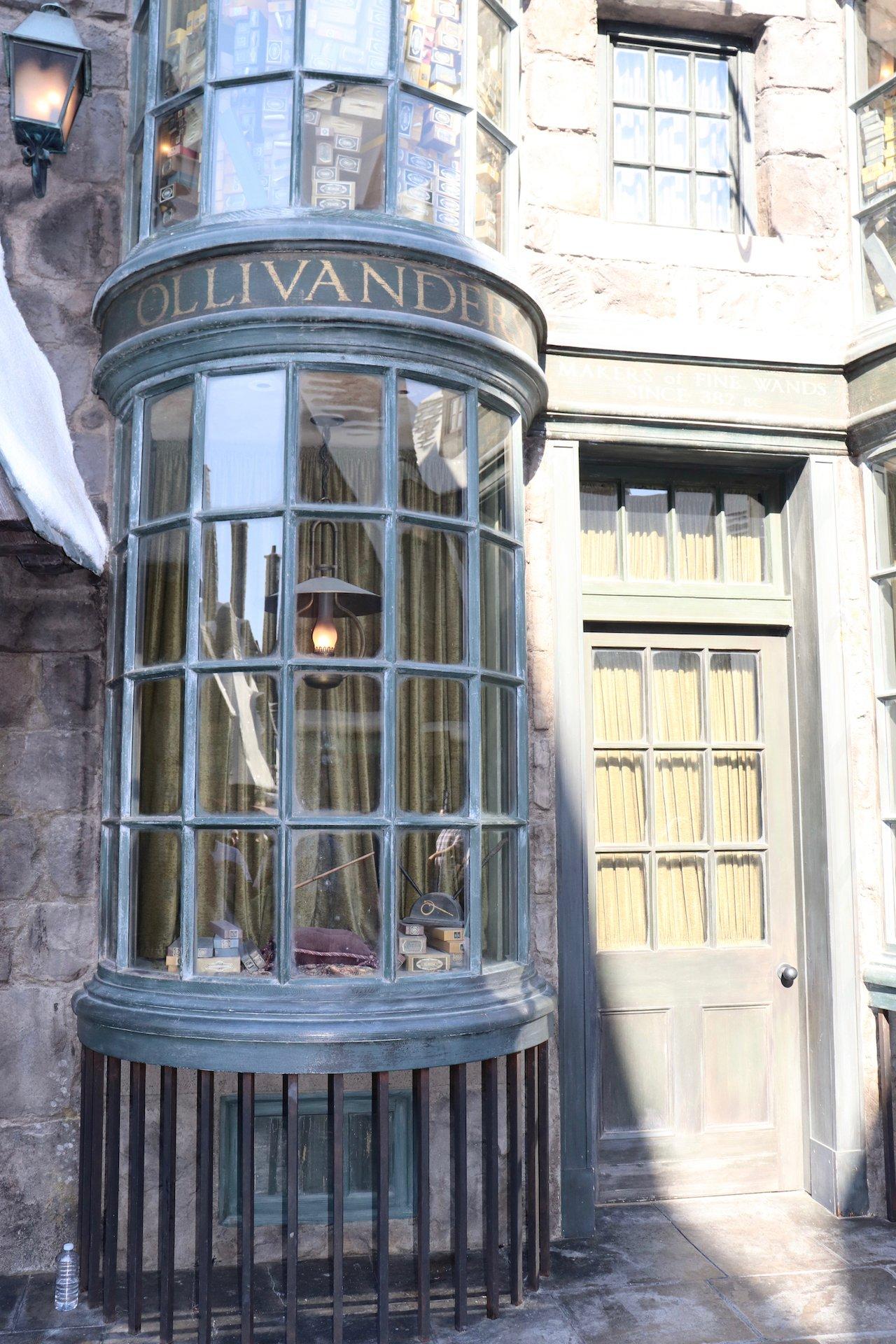 Universal Studios Hollywood Wizarding World Of Harry Potter Ollivander's