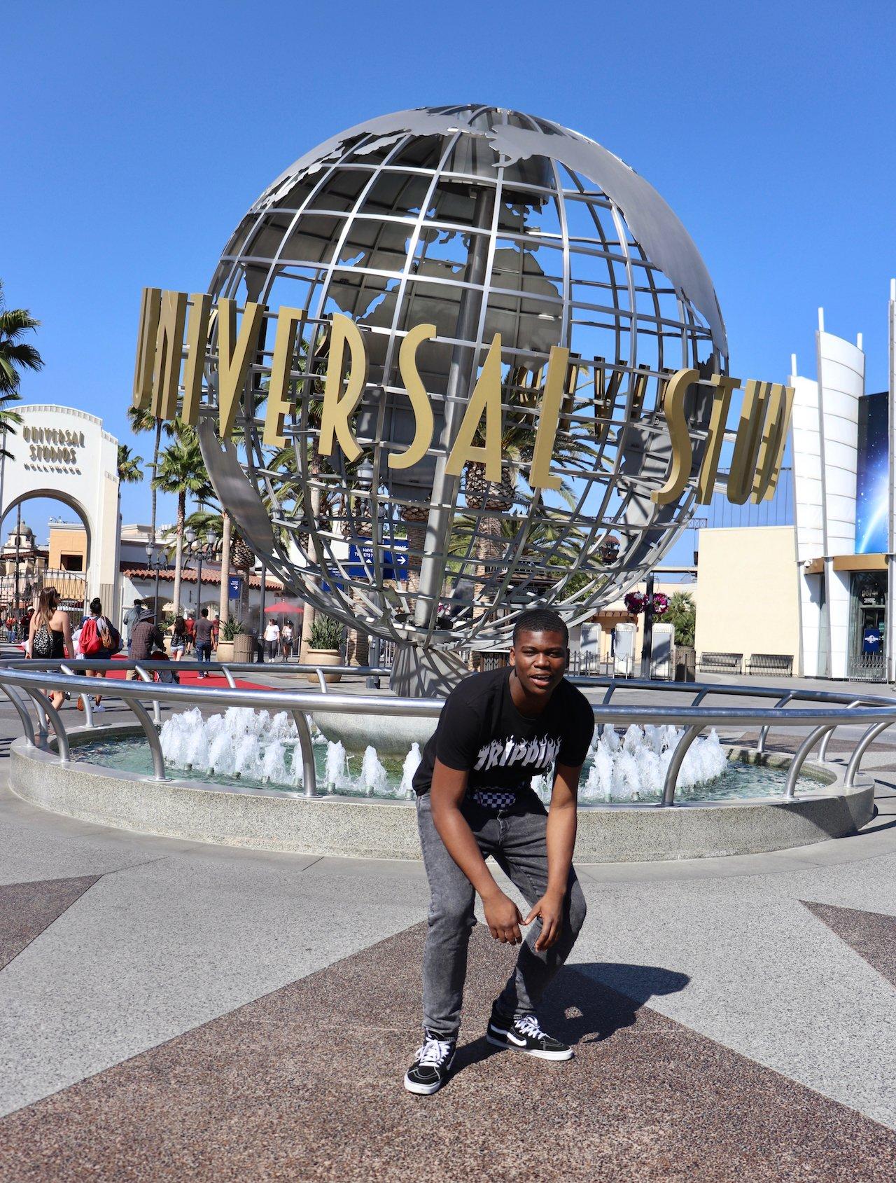 16th Birthday Trip To LA Universal Studios