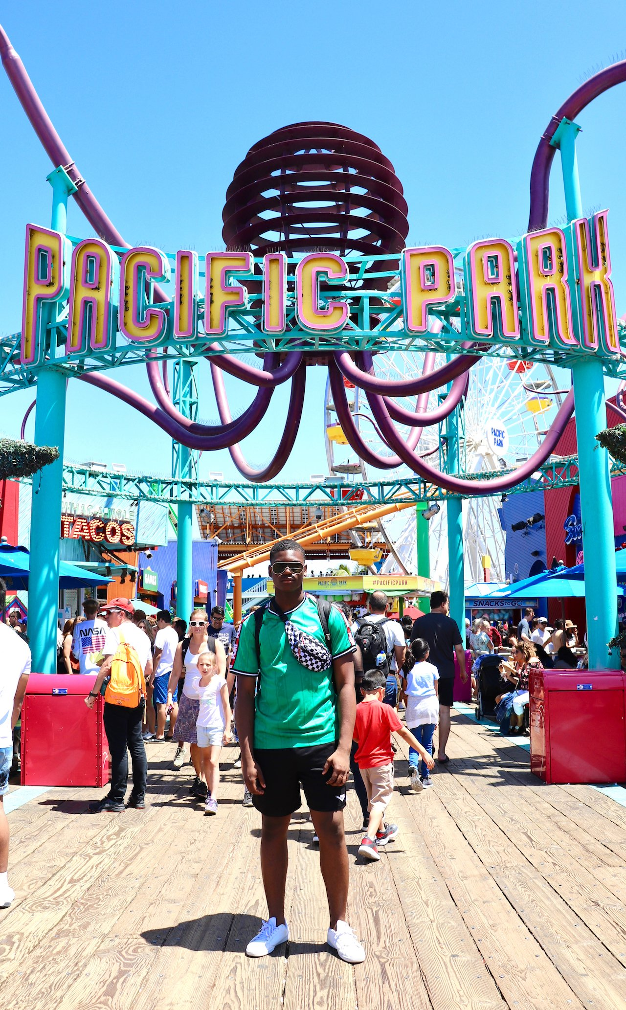 Day Trip to Santa Monica Pier Pacific Park