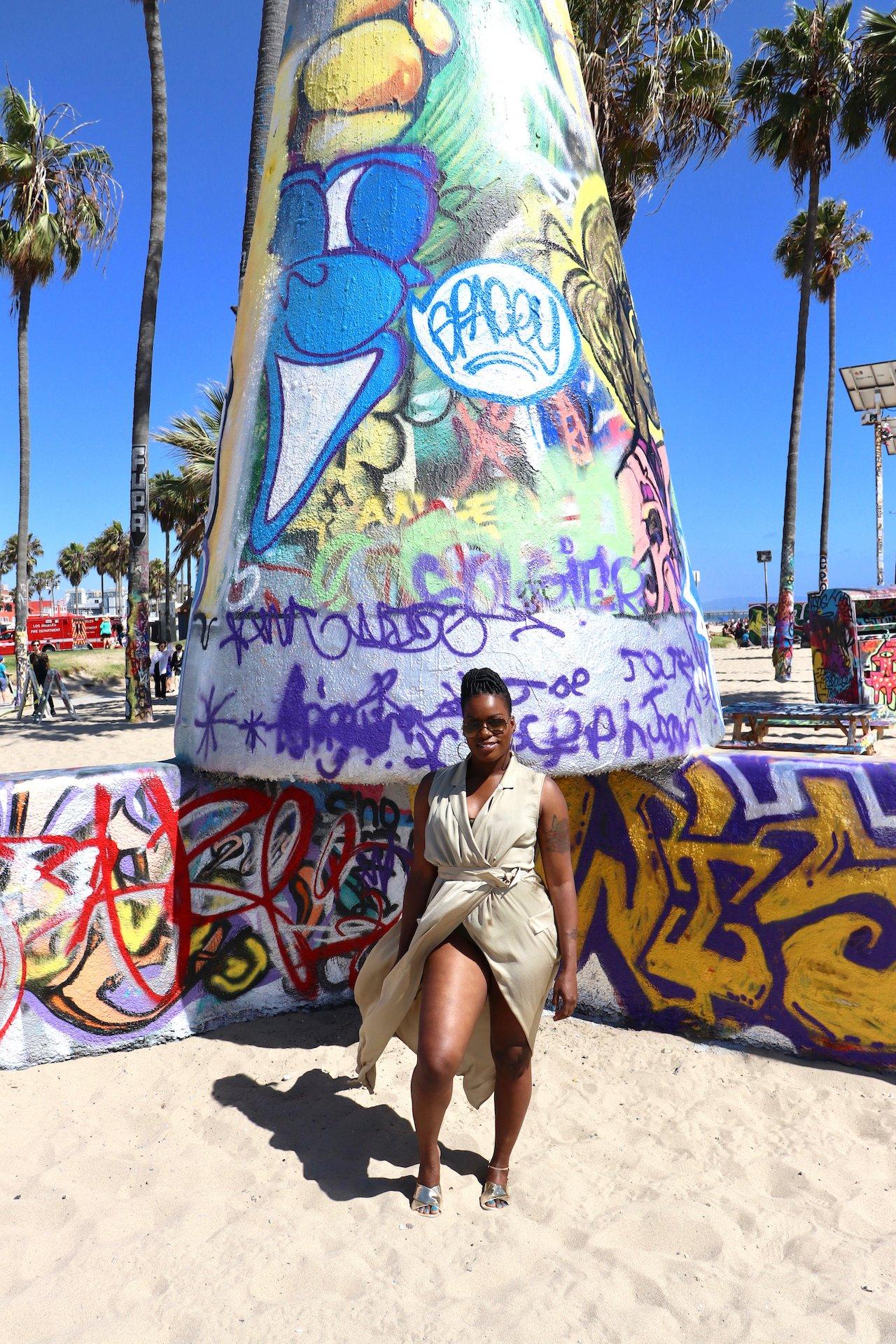 Day Trip to Venice Beach Art Walls