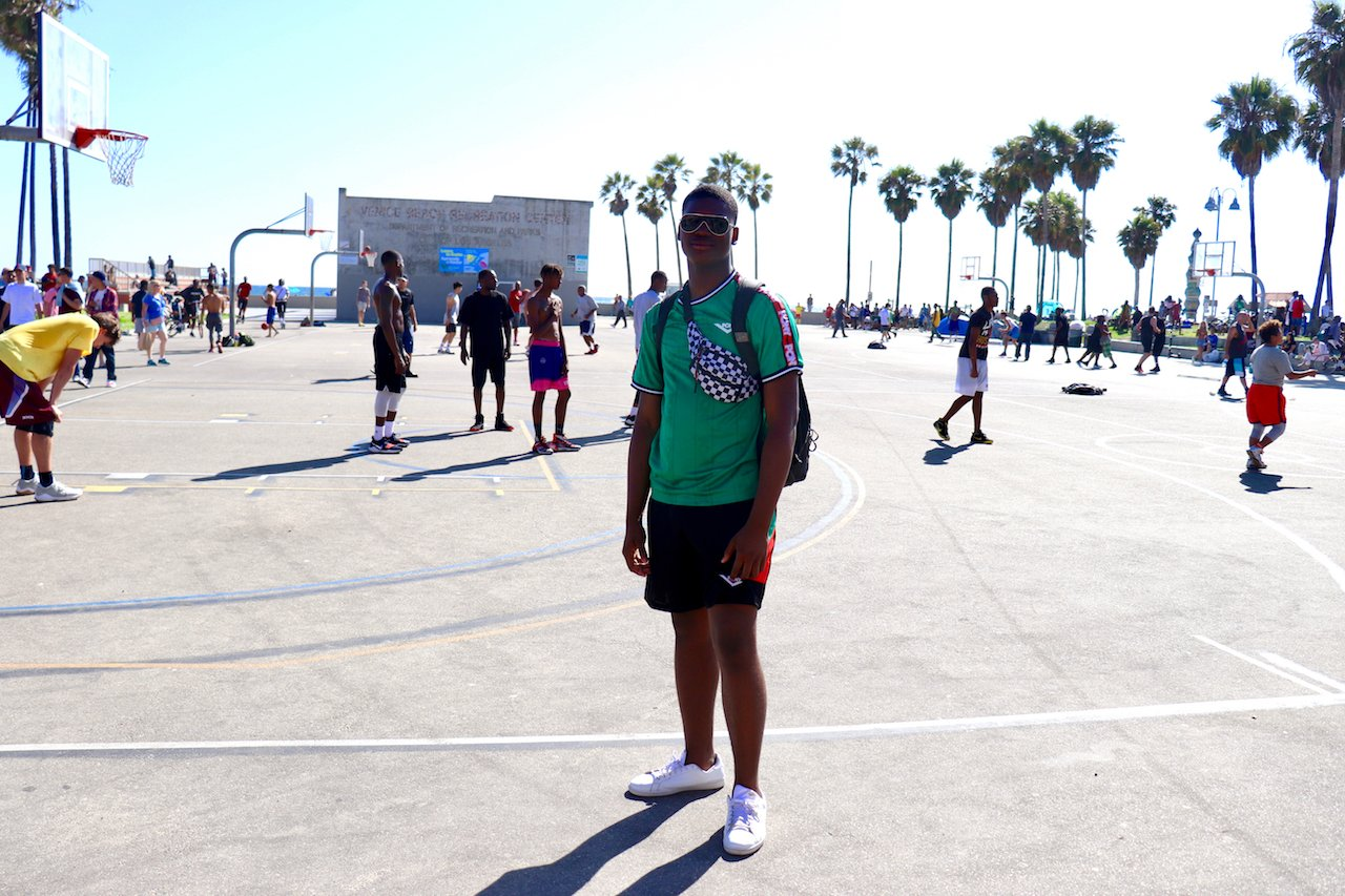 Day Trip to Venice Beach Basketball Courts