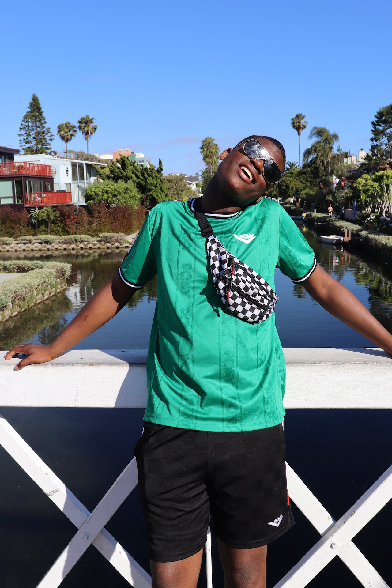 Day Trip to Santa Monica Venice Canals