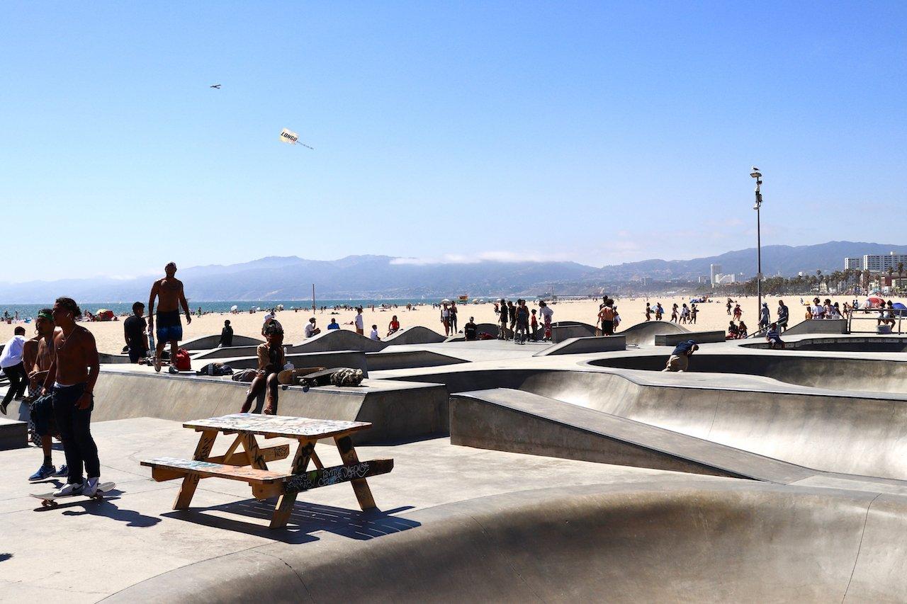 Day Trip to Venice Beach Skate Park