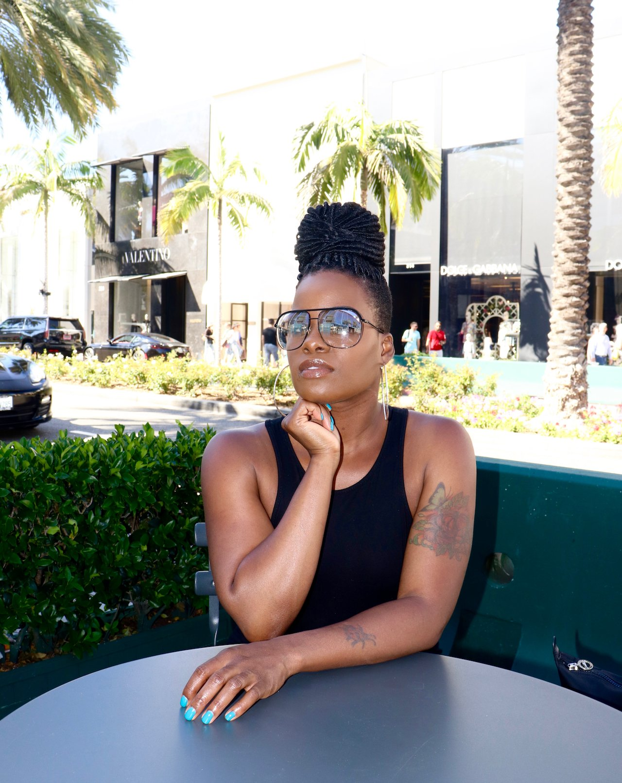 LA Trip Sitting Pretty On Rodeo Drive