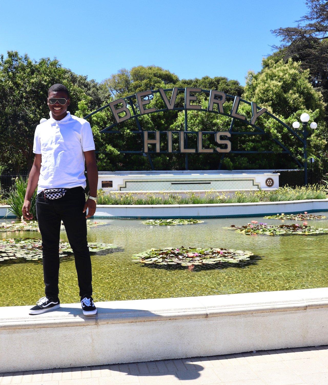LA Trip Beverly Hills Sign