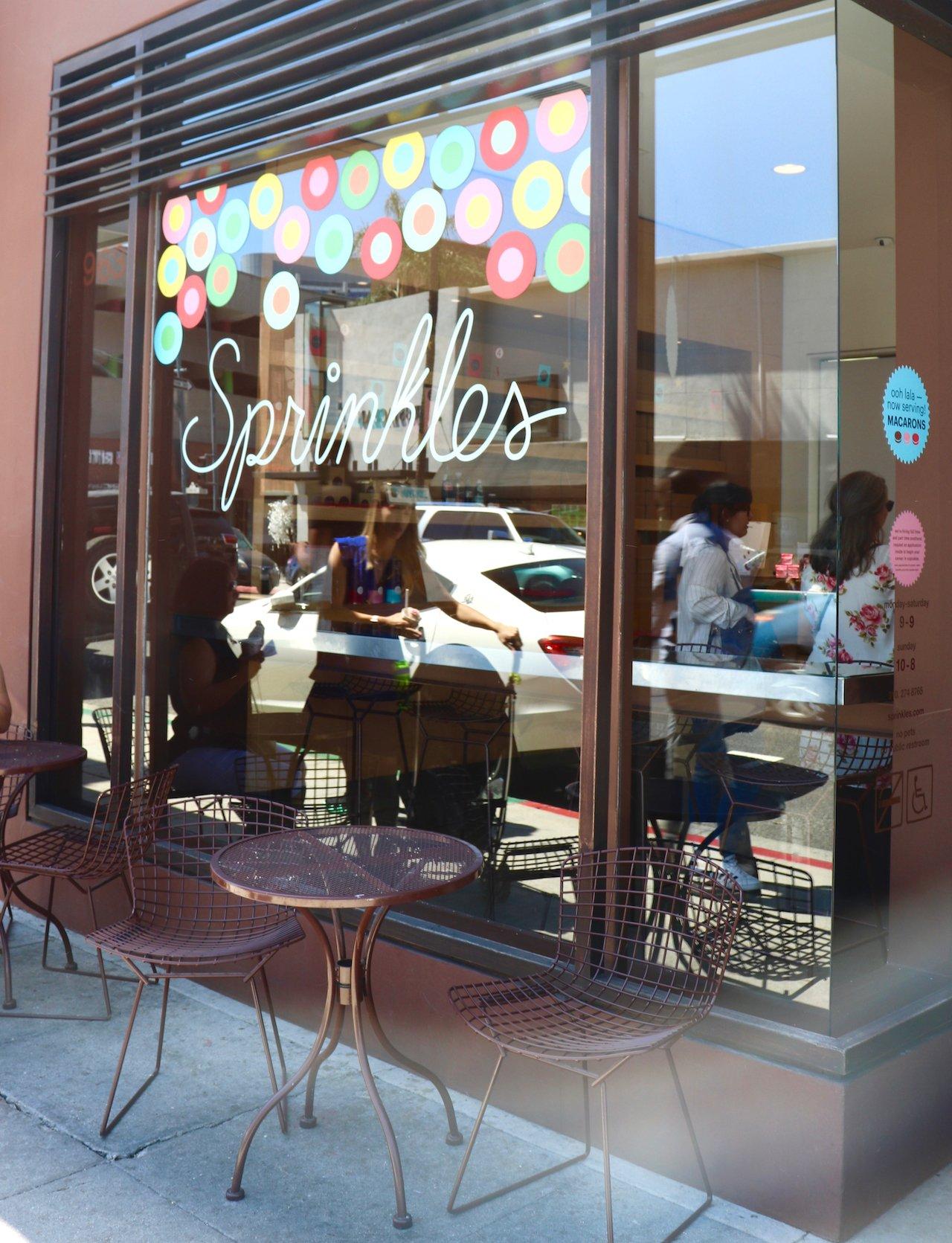LA Trip Beverly Hills Sprinkles Cupcake Shop
