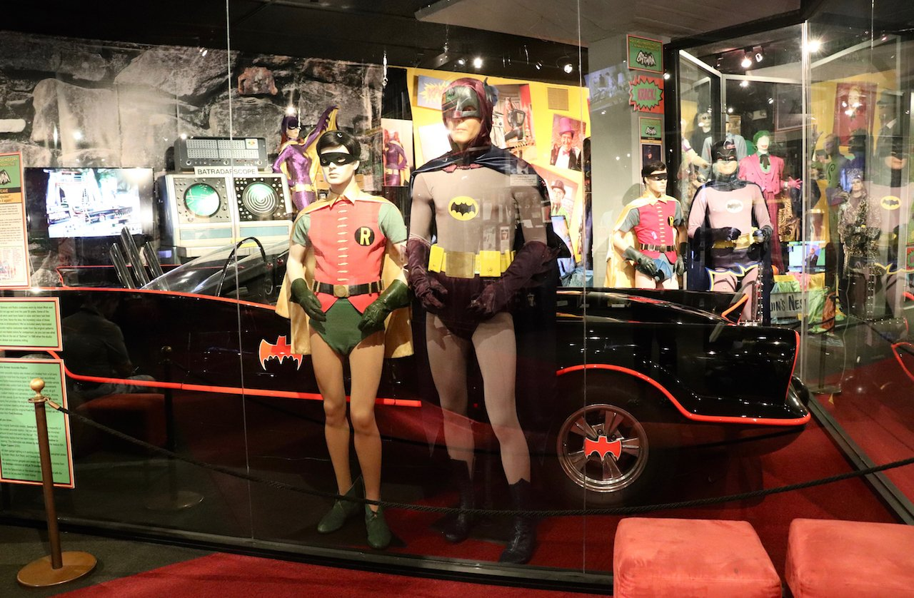 LA Trip Hollywood Museum Batman Exhibit