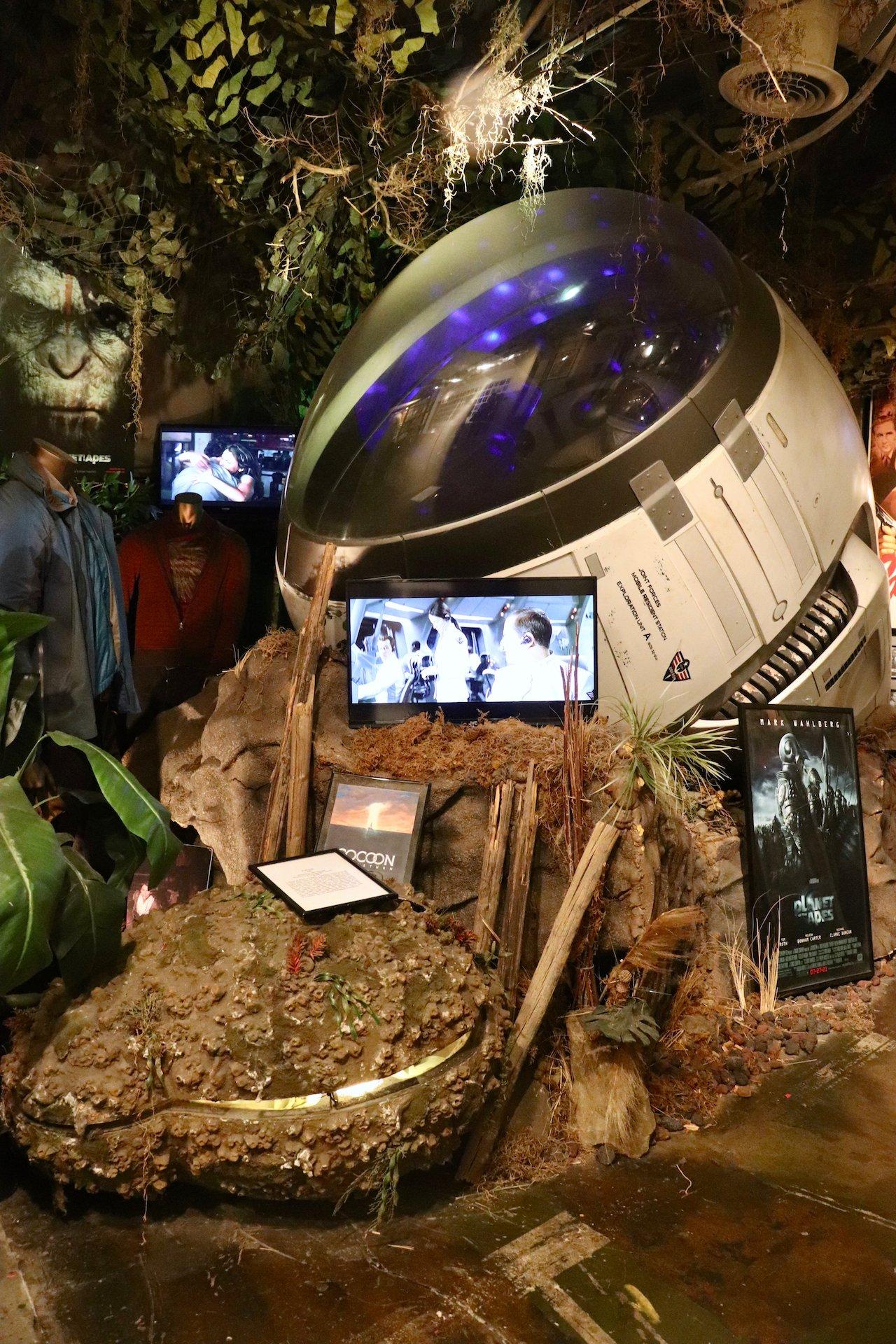 LA Trip Hollywood Museum Sci-Fi Exhibit