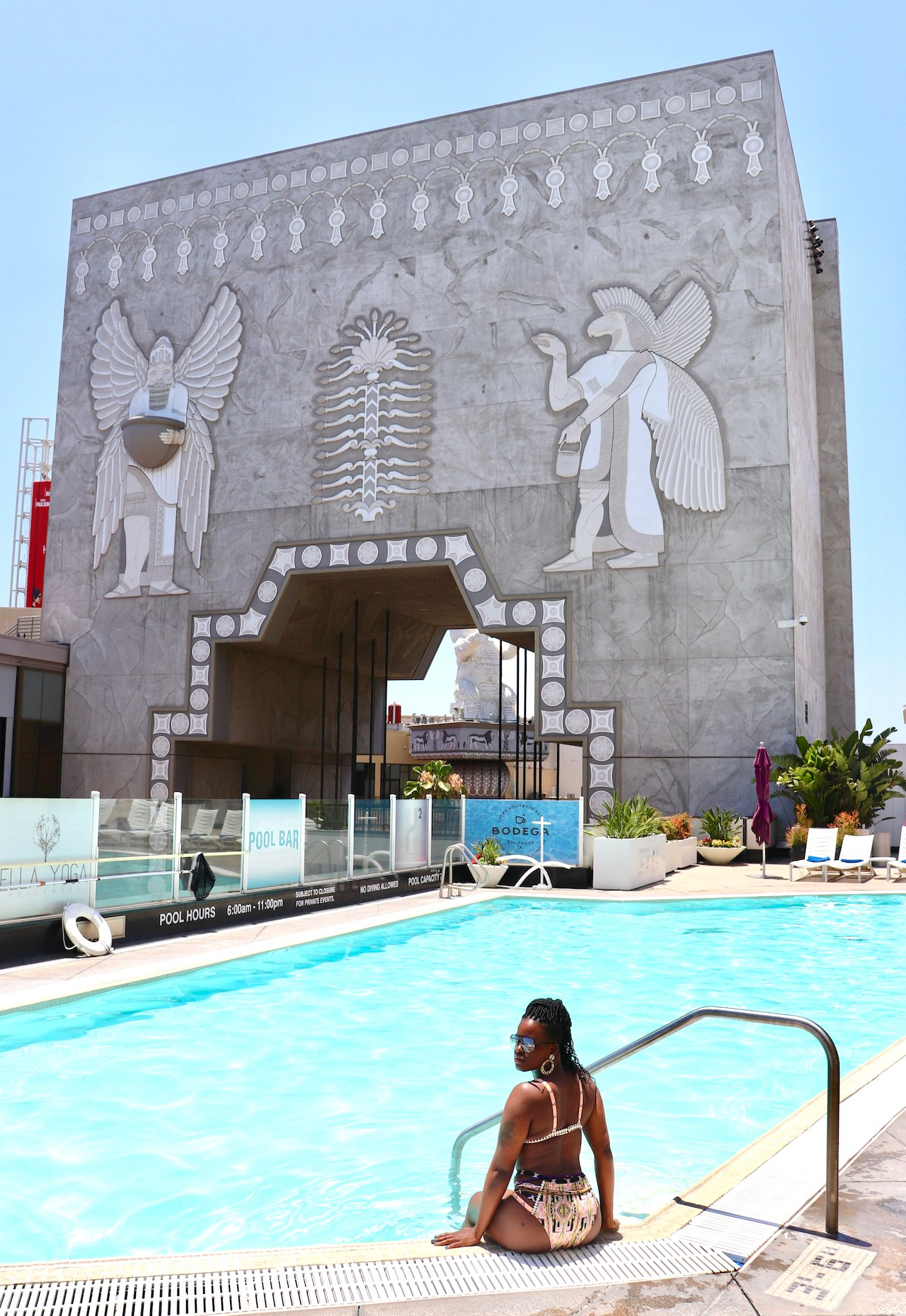 LA Trip Loews Hollywood Pool