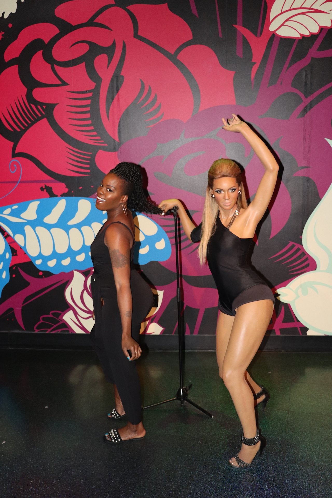 Madame Tussauds Hollywood Beyonce