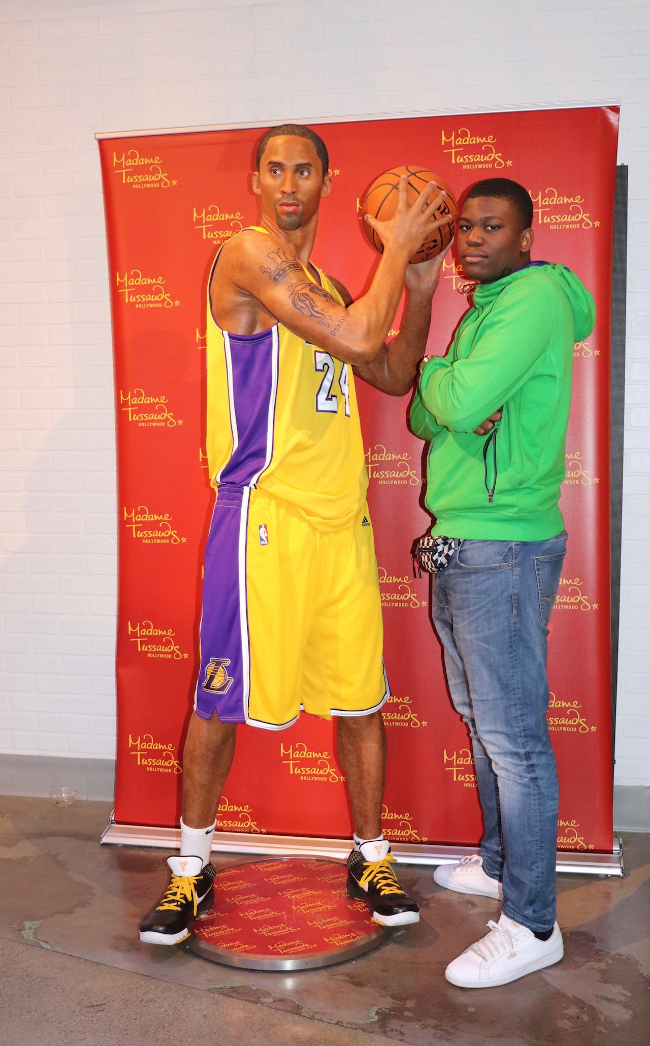 Madame Tussauds Hollywood Kobe Bryant