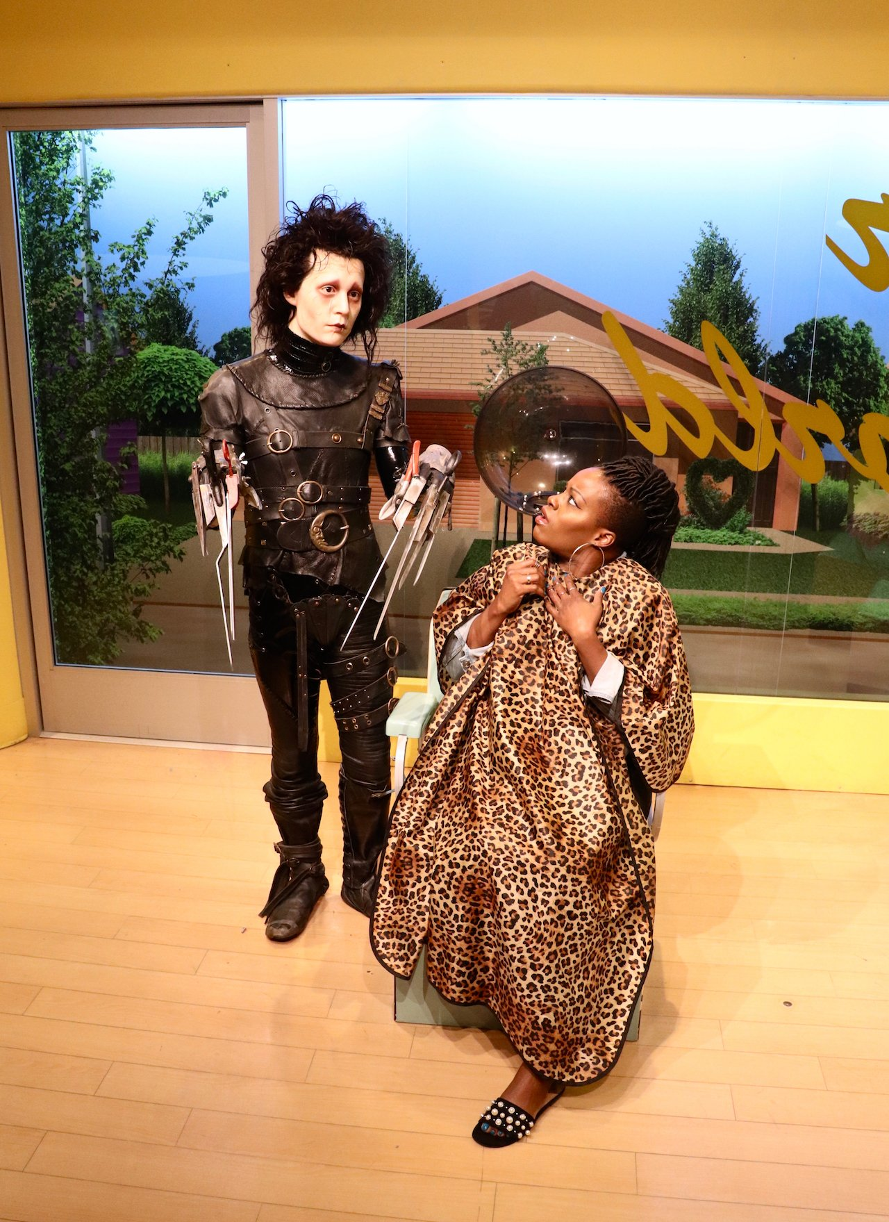 Madame Tussauds Hollywood Scissorhands
