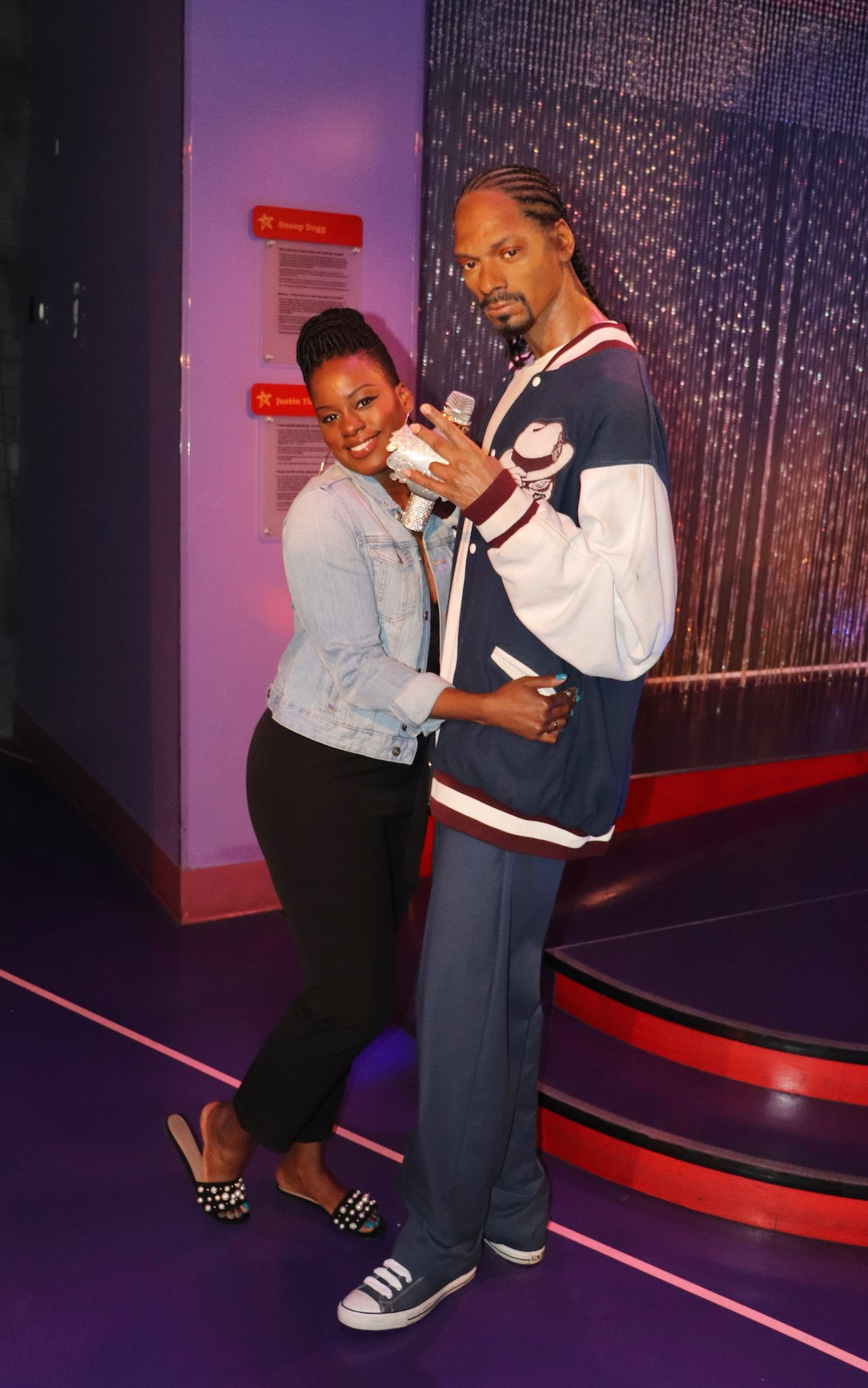 Madame Tussauds Hollywood Snoop Dog