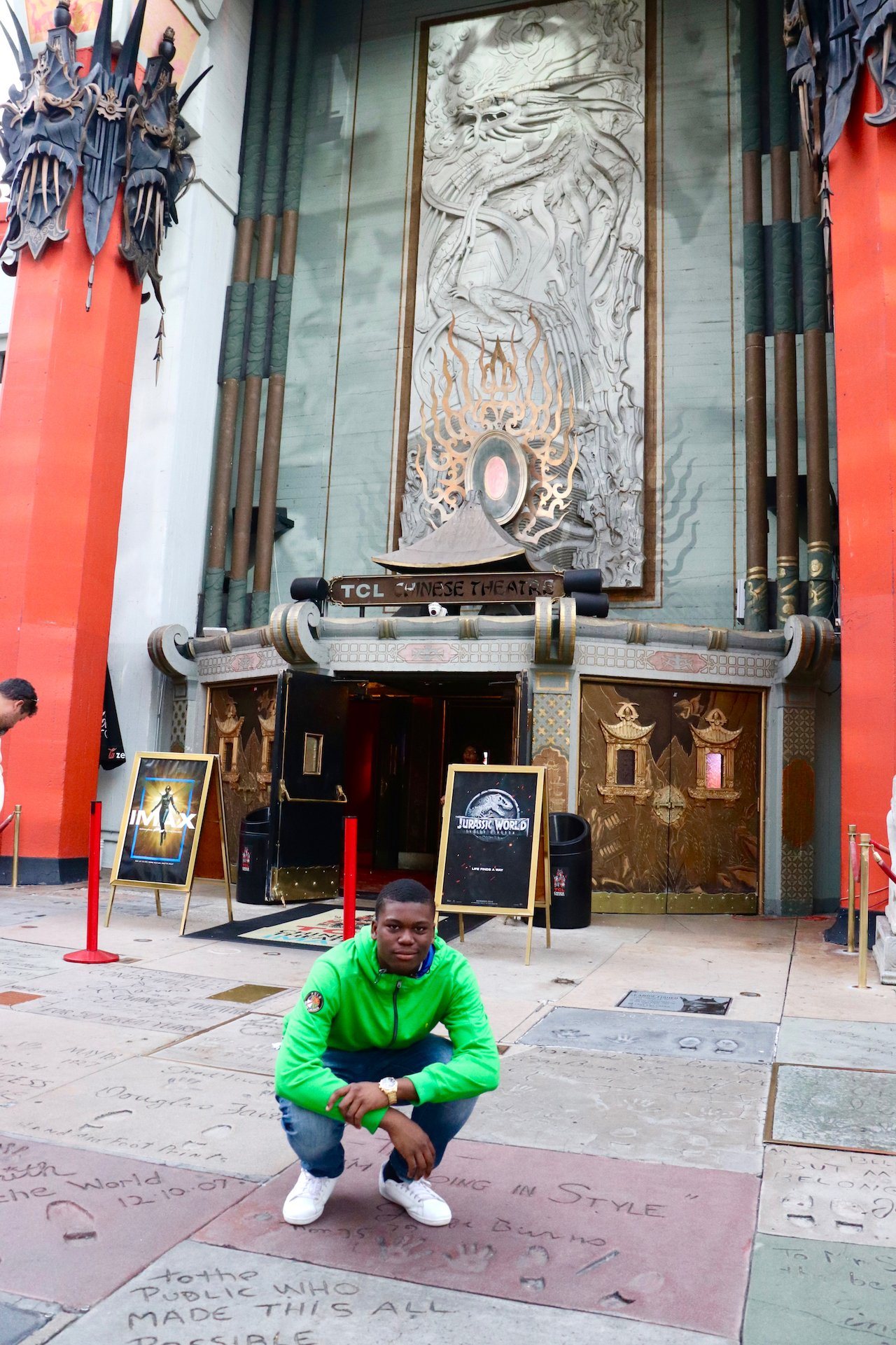 Hollywood Boulevard With Teens TCL Chinese Theatre