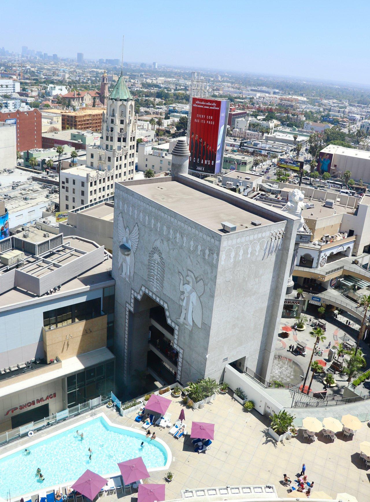 Loews Hollywood Pool View Room