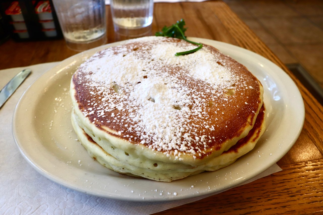 Jinky's Cafe Brunch Pancakes