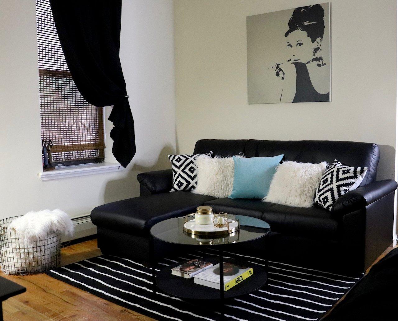 Glammzmore Living Room Makeover