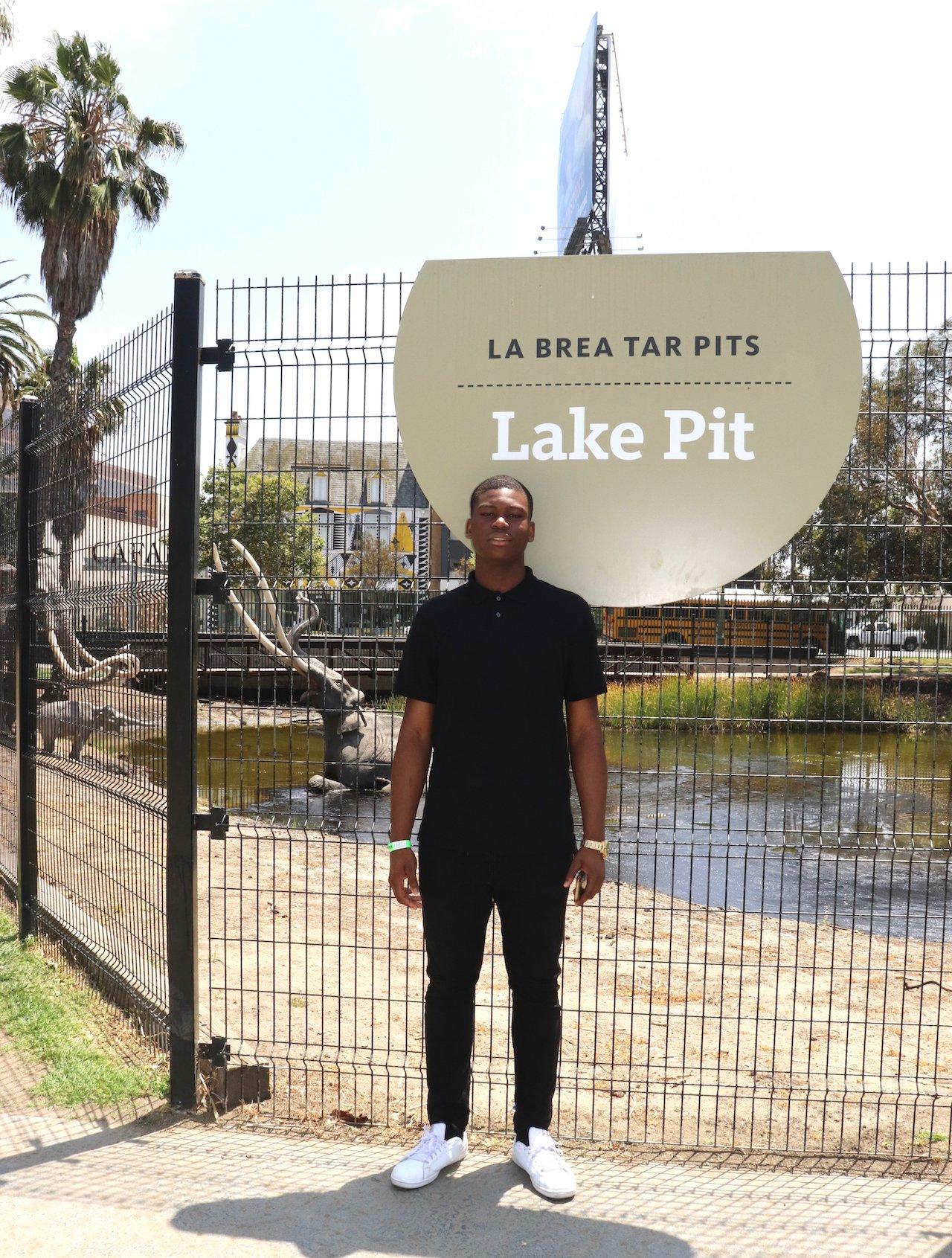 LA Museum Row La Brea Tar Pits