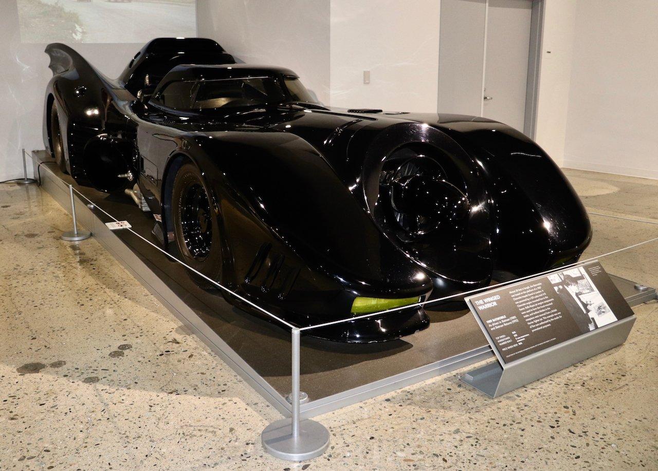LA Museum Row Petersen Automotive Museum Bat Mobile