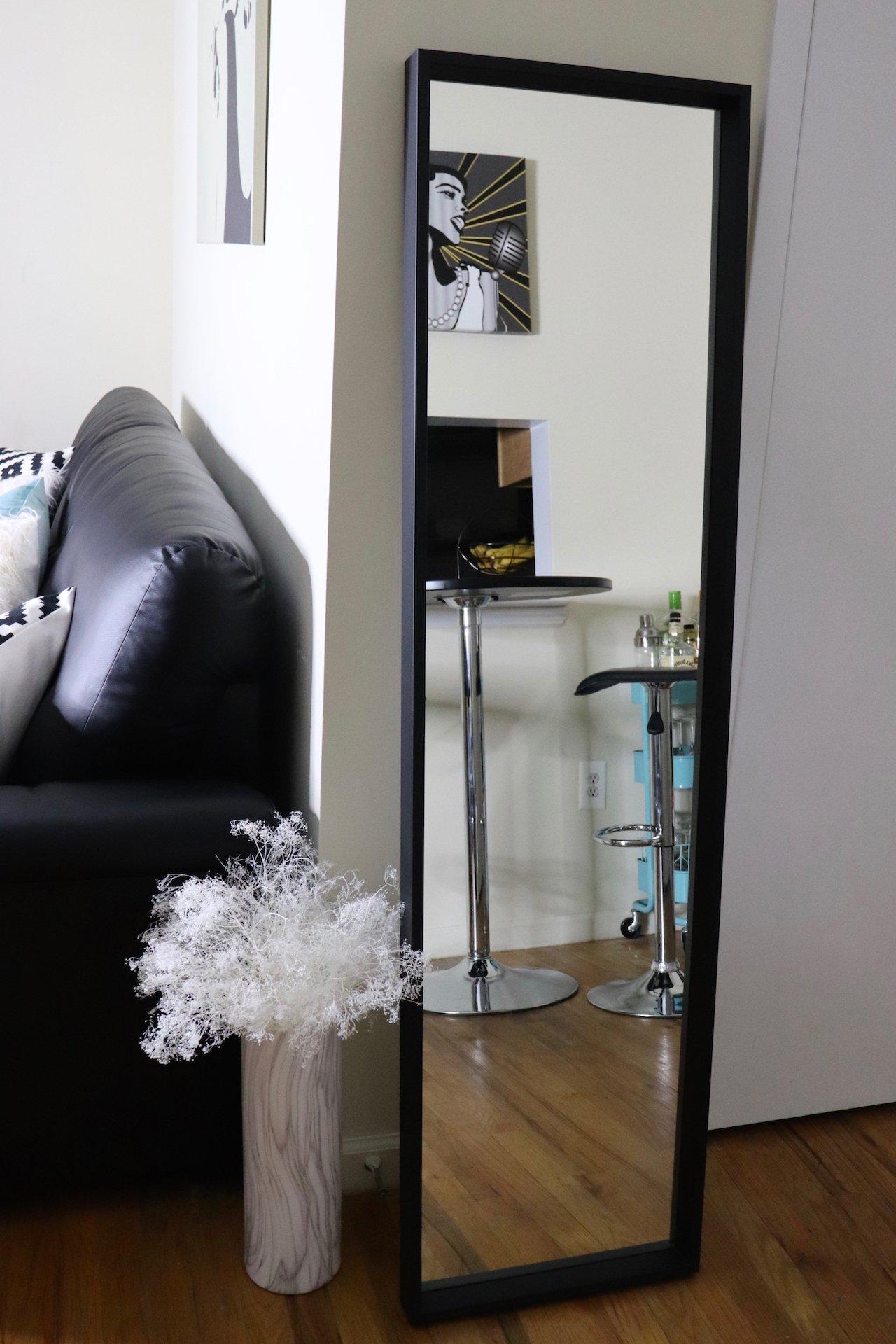 living room makeover floating mirror floating m