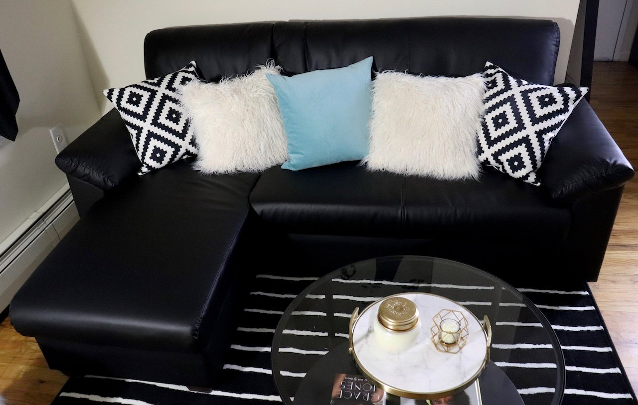 Living Room Makeover Ikea Knislinge Sectional