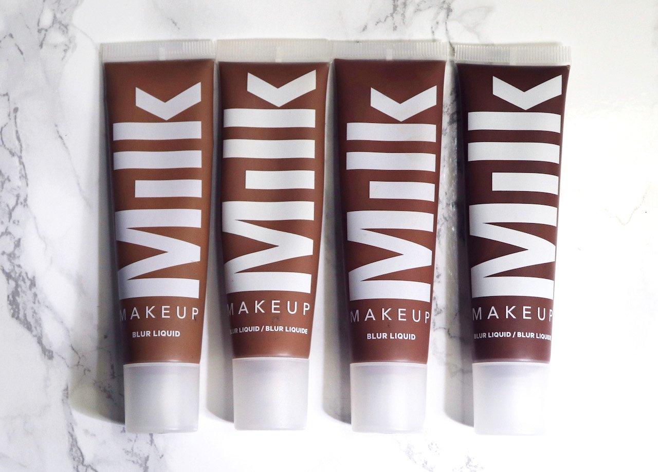 Milk Makeup Blur Foundation Review Dark Skin